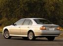 Фото авто BMW 5 серия E39 [рестайлинг], ракурс: 135 цвет: серебряный