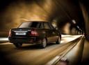 Фото авто ВАЗ (Lada) Priora 1 поколение [рестайлинг], ракурс: 225 цвет: черный