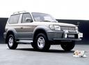 Фото авто Toyota Land Cruiser Prado J90, ракурс: 45