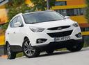 Фото авто Hyundai ix35 1 поколение [рестайлинг], ракурс: 315 цвет: белый