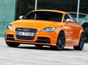 Фото авто Audi TT 8J [рестайлинг], ракурс: 45 цвет: оранжевый