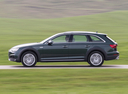 Фото авто Audi A4 B9, ракурс: 90 цвет: зеленый