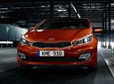 Фото авто Kia Cee'd 2 поколение,  цвет: оранжевый
