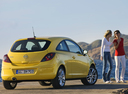 Фото авто Opel Corsa D, ракурс: 225 цвет: желтый