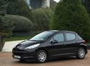 Фото авто Peugeot 207 1 поколение, ракурс: 90 цвет: черный