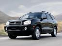 Фото авто Hyundai Santa Fe SM [рестайлинг], ракурс: 45 цвет: черный