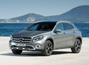 Фото авто Mercedes-Benz GLA-Класс X156 [рестайлинг], ракурс: 45 цвет: серый