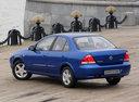 Фото авто Nissan Almera Classic B10, ракурс: 135 цвет: синий