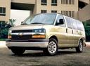 Фото авто Chevrolet Express 1 поколение [рестайлинг], ракурс: 45