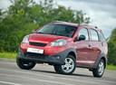 Фото авто Chery IndiS 1 поколение, ракурс: 45 цвет: красный