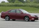 Фото авто Toyota Camry XV30 [рестайлинг], ракурс: 315 цвет: бордовый