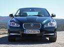 Фото авто Jaguar XF X250,  цвет: зеленый