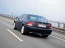 Фото авто BMW 7 серия E65/E66, ракурс: 135 цвет: мокрый асфальт
