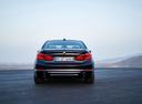 Фото авто BMW 5 серия G30, ракурс: 180 цвет: синий
