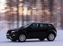 Фото авто Land Rover Range Rover Evoque L538, ракурс: 45 цвет: черный