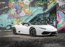 Фото авто Lamborghini Huracan 1 поколение, ракурс: 270 цвет: белый