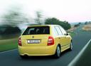 Фото авто Skoda Fabia 6Y, ракурс: 180 цвет: желтый