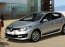 Фото авто Renault Megane 3 поколение [2-й рестайлинг], ракурс: 45 цвет: серебряный