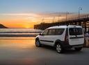 Фото авто ВАЗ (Lada) Largus 1 поколение, ракурс: 135 цвет: серебряный