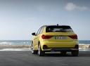 Фото авто Audi A1 2 поколение, ракурс: 180 цвет: желтый