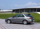 Фото авто Subaru Impreza 2 поколение [2-й рестайлинг], ракурс: 135 цвет: серый