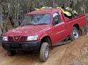 Фото авто Nissan Patrol Y61, ракурс: 45 цвет: красный