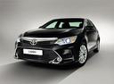 Фото авто Toyota Camry XV50 [рестайлинг], ракурс: 45 - рендер цвет: черный