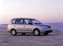 Фото авто Kia Carens 2 поколение, ракурс: 270