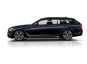 Фото авто BMW 5 серия G30, ракурс: 90 - рендер цвет: синий
