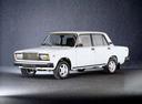 Фото авто ВАЗ (Lada) 2107 1 поколение, ракурс: 45 - рендер цвет: белый