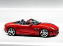 Фото авто Jaguar F-Type 1 поколение, ракурс: 270 цвет: красный