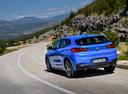 Фото авто BMW X2 F39, ракурс: 135 цвет: синий