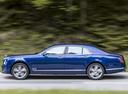 Фото авто Bentley Mulsanne 2 поколение [рестайлинг], ракурс: 90 цвет: синий