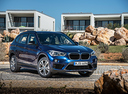 Фото авто BMW X1 F48, ракурс: 315 цвет: синий