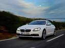 Фото авто BMW 6 серия F06/F12/F13 [рестайлинг], ракурс: 45 цвет: белый
