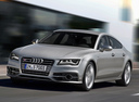 Фото авто Audi S7 4G, ракурс: 45 цвет: серый
