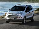 Фото авто Ford EcoSport 2 поколение, ракурс: 45 цвет: серебряный