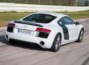 Фото авто Audi R8 1 поколение [рестайлинг], ракурс: 225 цвет: белый