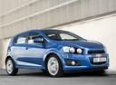Фото авто Chevrolet Aveo T300, ракурс: 315 цвет: синий