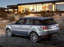 Фото авто Land Rover Range Rover Sport 2 поколение, ракурс: 135 цвет: серый