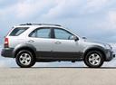 Фото авто Kia Sorento 1 поколение, ракурс: 270 цвет: серебряный