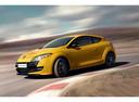 Фото авто Renault Megane 3 поколение [рестайлинг], ракурс: 45 цвет: желтый