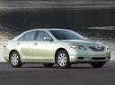 Фото авто Toyota Camry XV40, ракурс: 315 цвет: салатовый