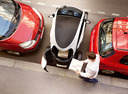 Фото авто Renault Twizy 1 поколение, ракурс: сверху цвет: белый