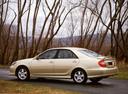 Фото авто Toyota Camry XV30, ракурс: 135 цвет: бежевый