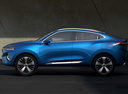 Фото авто Haval F7 1 поколение, ракурс: 90 цвет: синий