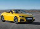 Фото авто Audi TT 8S [рестайлинг], ракурс: 315 цвет: желтый