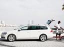 Фото авто Volkswagen Passat B7, ракурс: 90 цвет: белый