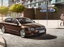 Фото авто Skoda Superb 2 поколение [рестайлинг], ракурс: 315 цвет: коричневый