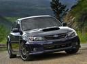 Фото авто Subaru Impreza 3 поколение [рестайлинг], ракурс: 315 цвет: синий